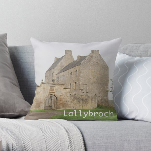 Midhope Castle , near Edinburgh , Scotland Throw Pillow