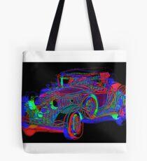 Neon 1930 Cadillac Tote Bag