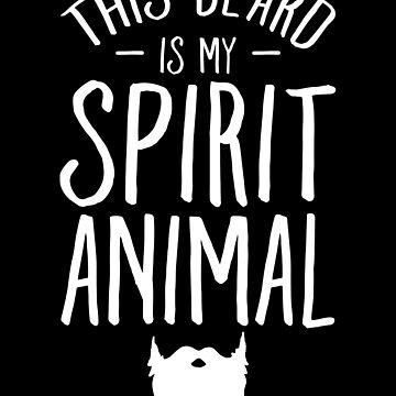 This beard is my spirit animal - Bearded Man by alexmichel