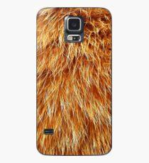 Ginger Red Hair Animal Fur Pattern Case/Skin for Samsung Galaxy