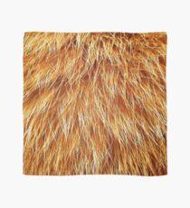 Ginger Red Hair Animal Fur Pattern Scarf