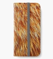 Ginger Red Hair Animal Fur Pattern iPhone Wallet/Case/Skin