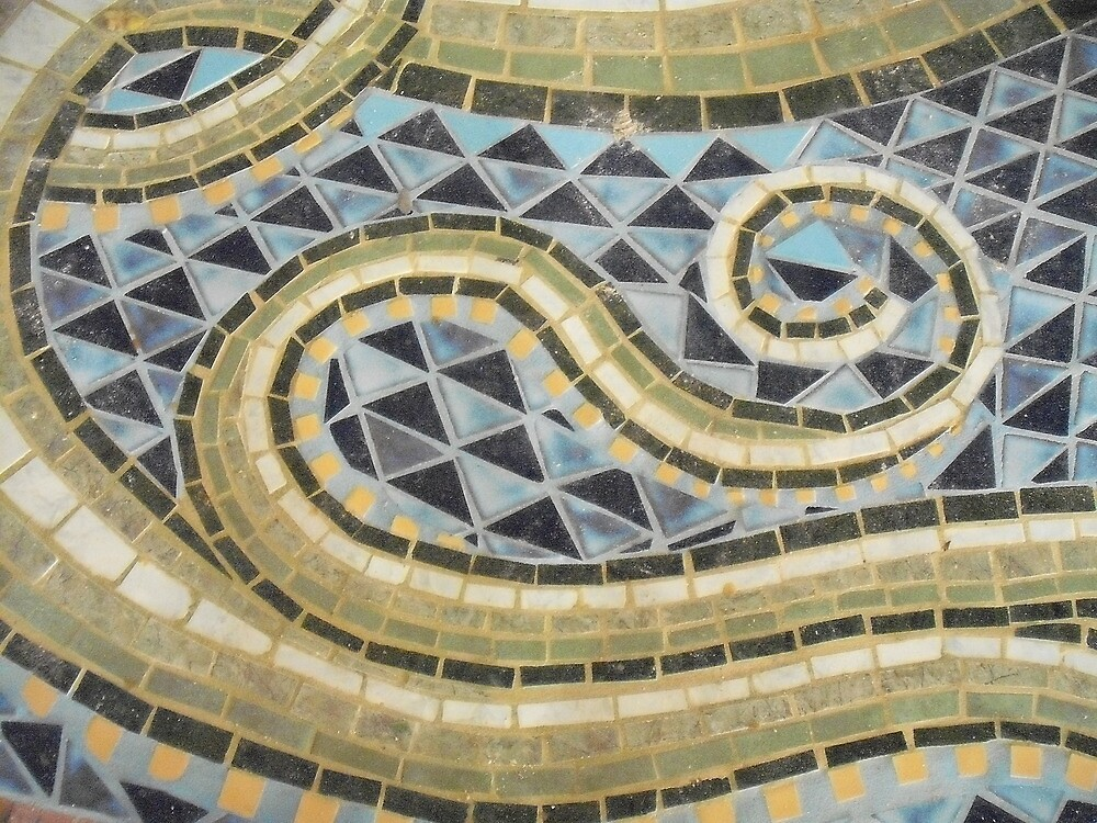 Tile Mosaic by Aasma