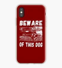 Beware Of This Dog iPhone-Hülle & Cover