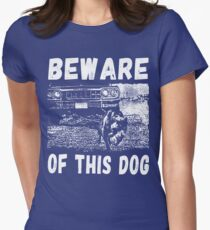 Beware Of This Dog Tailliertes T-Shirt
