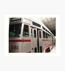 Tram 381 Art Print
