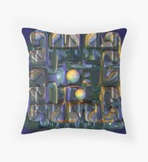 Puzzle Box Throw Pillow