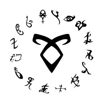 Runes -  Shadowhunters by Hilaarya