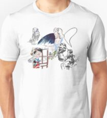 Story Lines - Pinocchio Characters Unisex T-Shirt