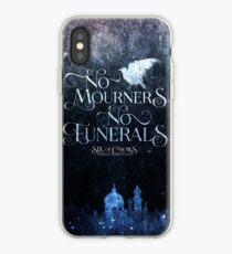 Vinilo o funda para iPhone Seis de los cuervos, no hay dolores, ni funerales, Kaz Brekker