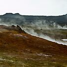 Steaming Rocky Earth II by Matthias Keysermann