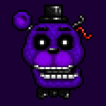 Adventure Shadow Freddy - FNAF World - Pixel Art by GEEKsomniac