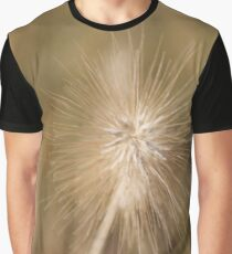 macro photography, grass family, nature, summer, seed, outdoors, dandelion, bright, grass, growth, sharp, horizontal, close-up, no people, plant, day Graphic T-Shirt