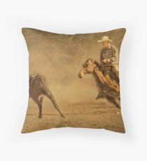 Bringin' In The Strays Throw Pillow