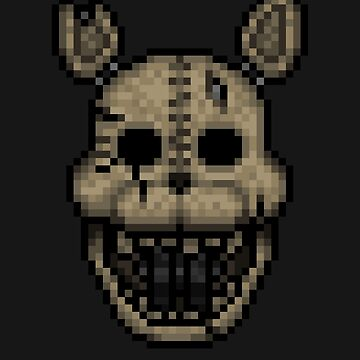 The CAT - Five Nights at Candy's 2 - Pixel art by GEEKsomniac