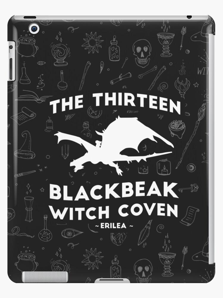 'Manon Blackbeak, The Thirteen Blackbeak Witch Coven, Asterin Blackbeak,  Irontheet Witches, Throne of Glass ' iPad Case/Skin by yairalynn