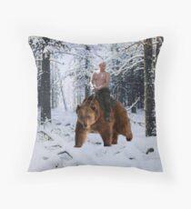 Putin auf einen Bären Dekokissen