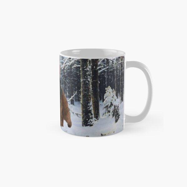 Putin on a bear Classic Mug