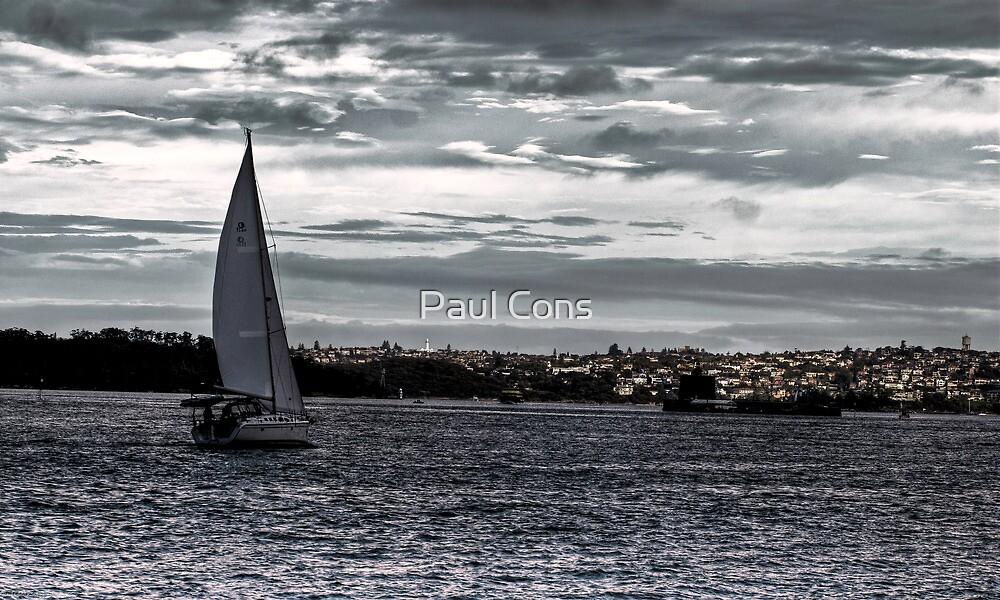 Barco de Vela by Paul Cons