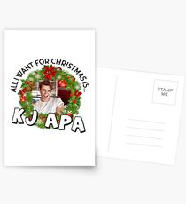 All I want for Christmas is KJ Apa Postcards