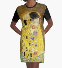 Klimt The Kiss Graphic T-Shirt Dress