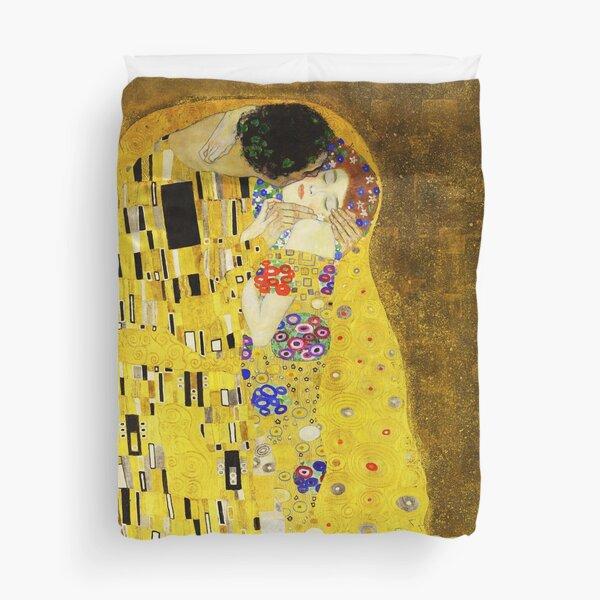 Klimt The Kiss Duvet Cover