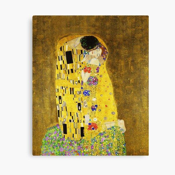 Klimt The Kiss Canvas Print