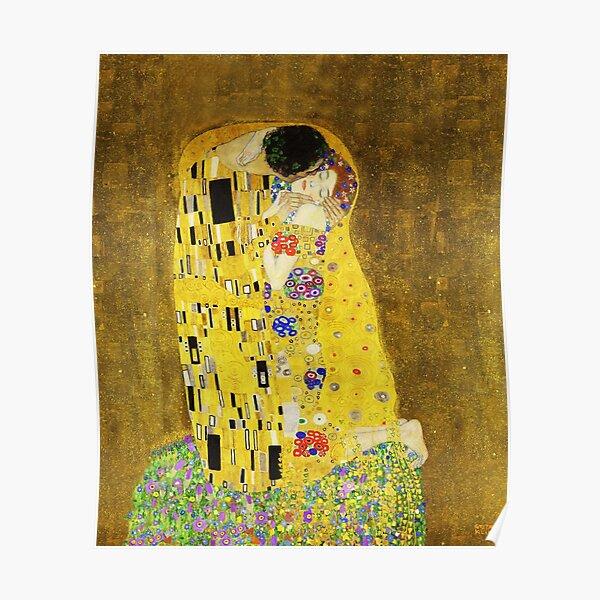 Klimt le baiser Poster
