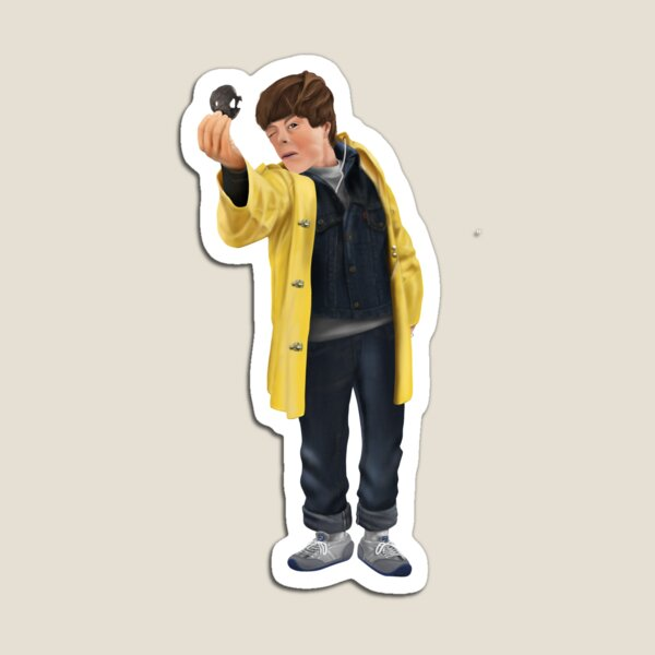 Mickey's iconic pose from The Goonies Magnet