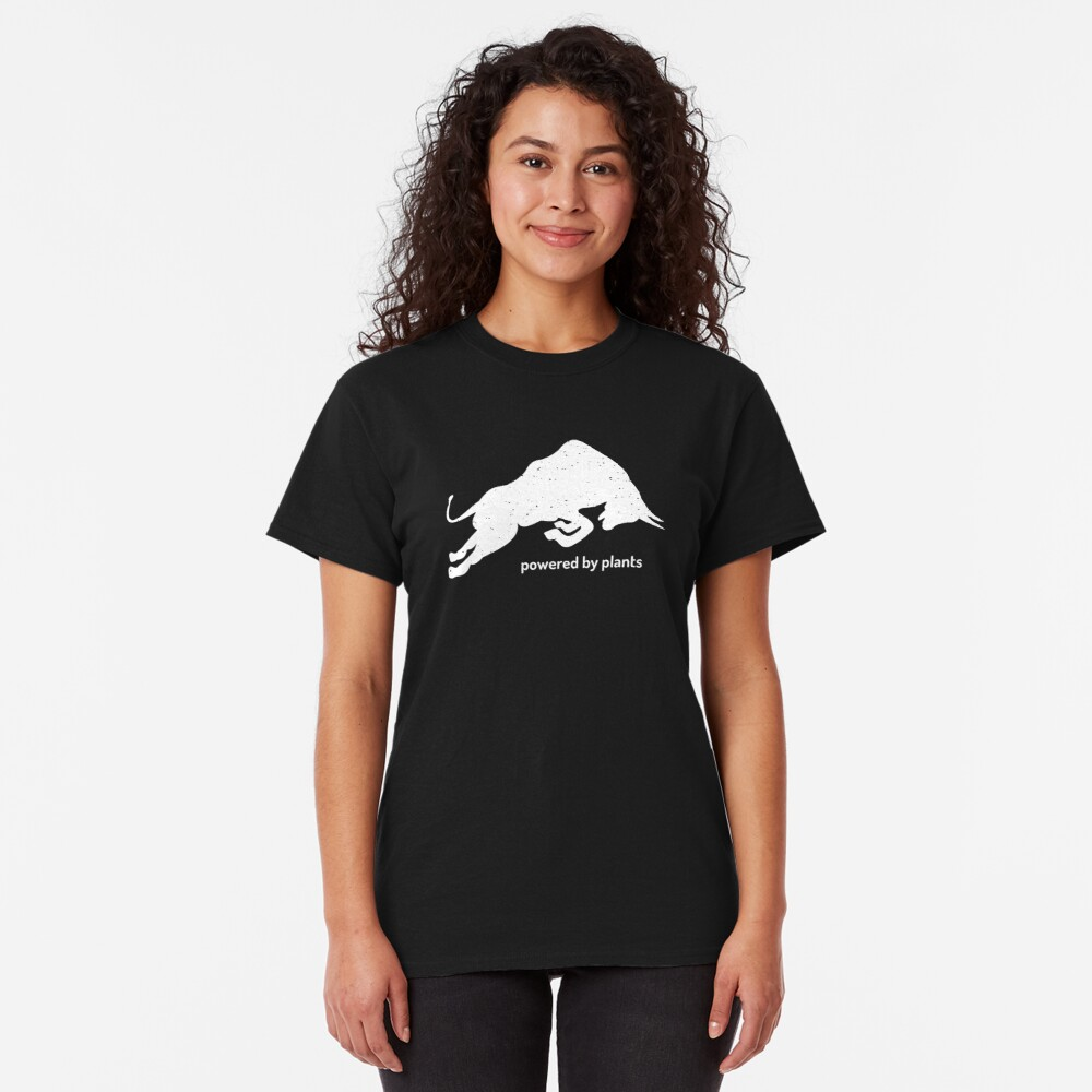 bull - powered by plants Classic T-Shirt