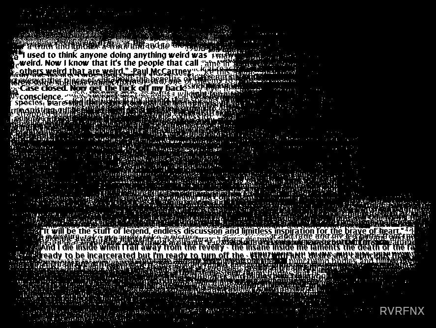 The third loose page. by RVRFNX