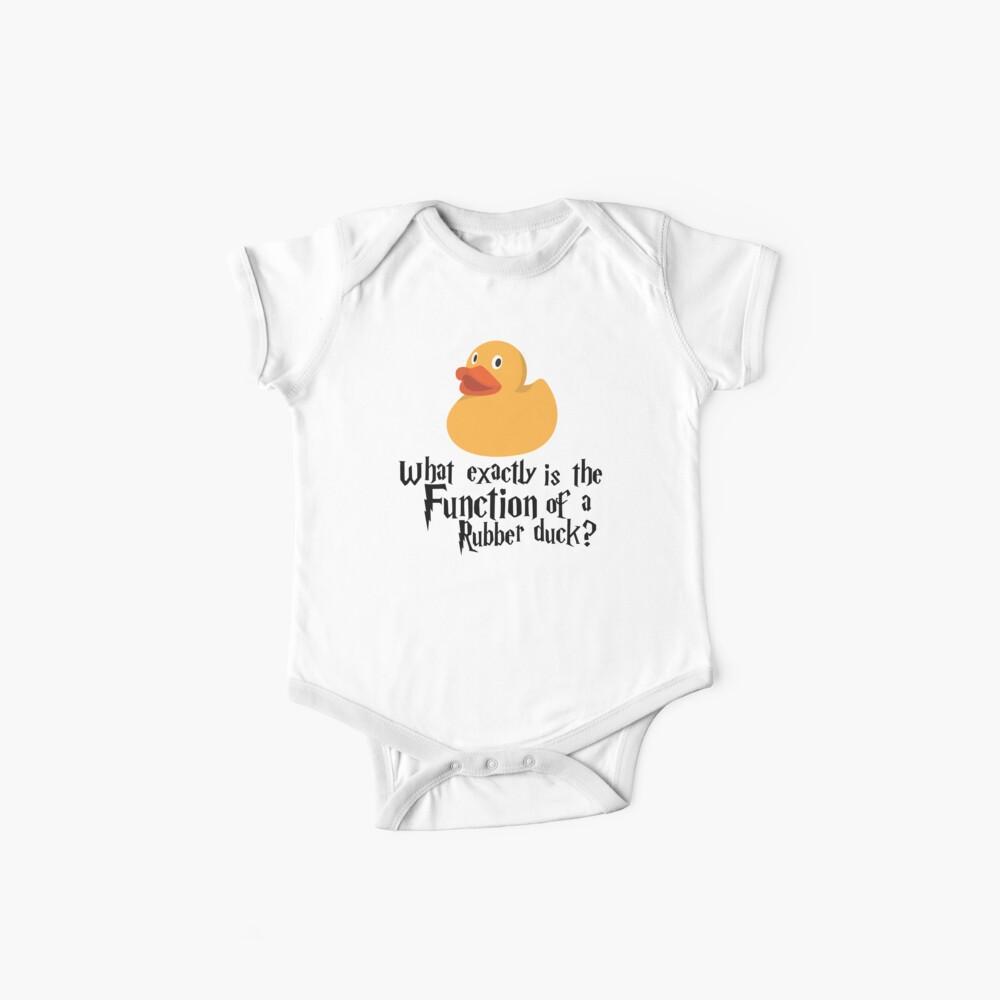 Pato de goma Bodies para bebé