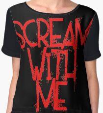Scream With Me Chiffon Top