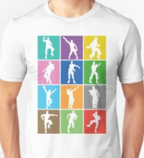 Fortnite Dances & Emotes Unisex T-Shirt