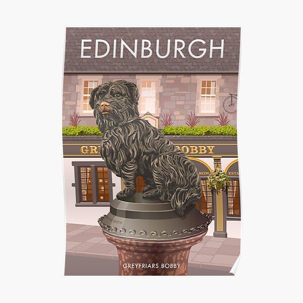 Edinburgh, Greyfriars Bobby Poster
