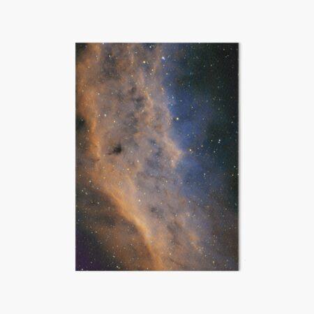 california nebula Art Board Print