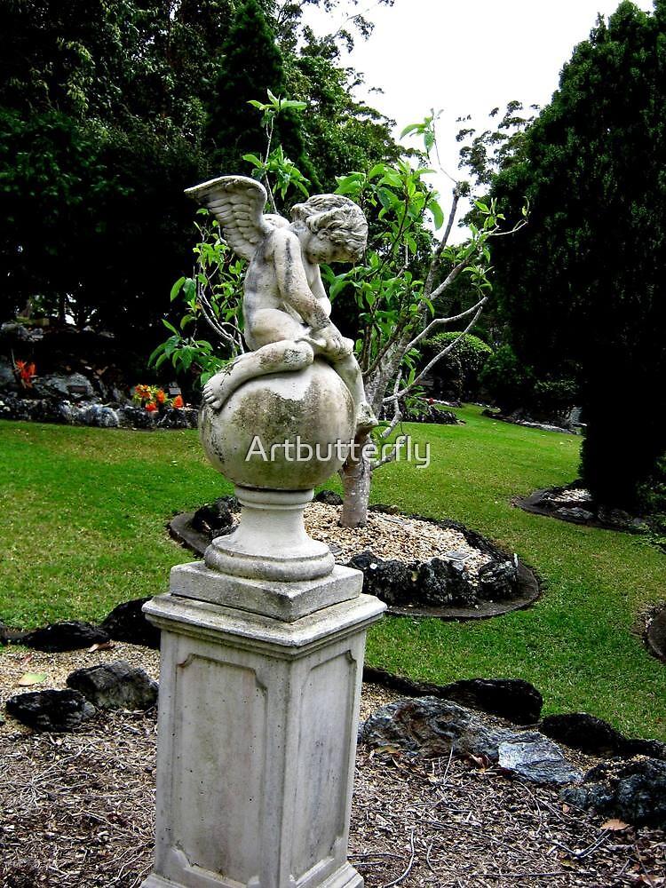 The garden guardian by Artbutterfly