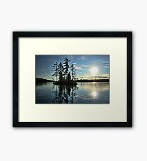Crystal Lake Framed Print