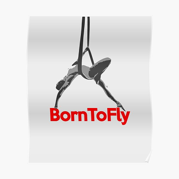 Aerial Yoga Design - Aerial Yoga Art - Aerial Yoga Stuff Poster