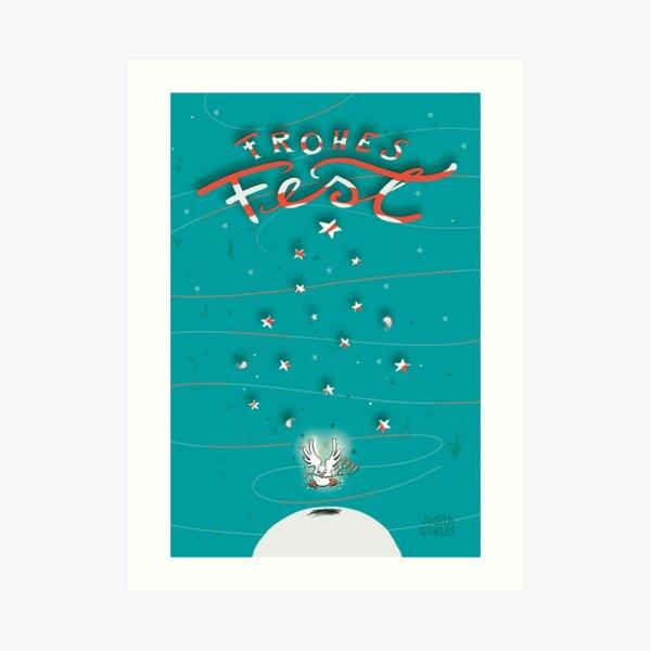 Dove - Happy holiday Art Print