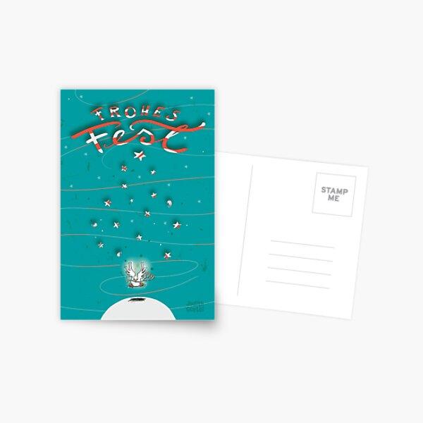 Taube - Frohes Fest Postkarte