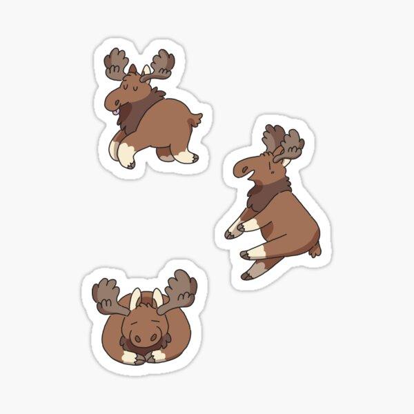 Goofy Mooses Sticker