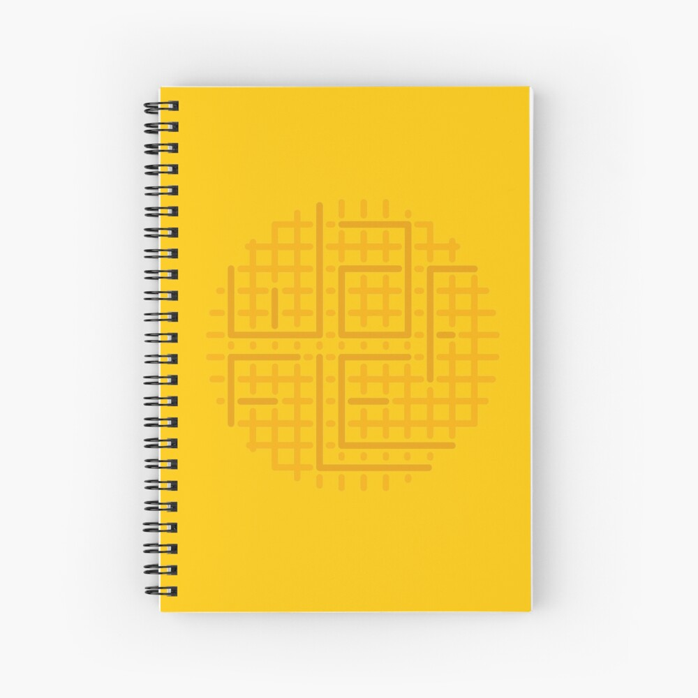 cut out the waffle Spiral Notebook