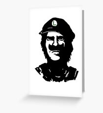 Luigi Che Greeting Card