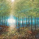 Path through the forest by Jenny Urquhart