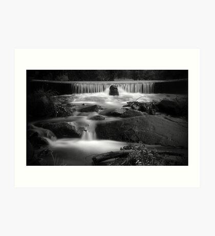Falls on the Creek Art Print
