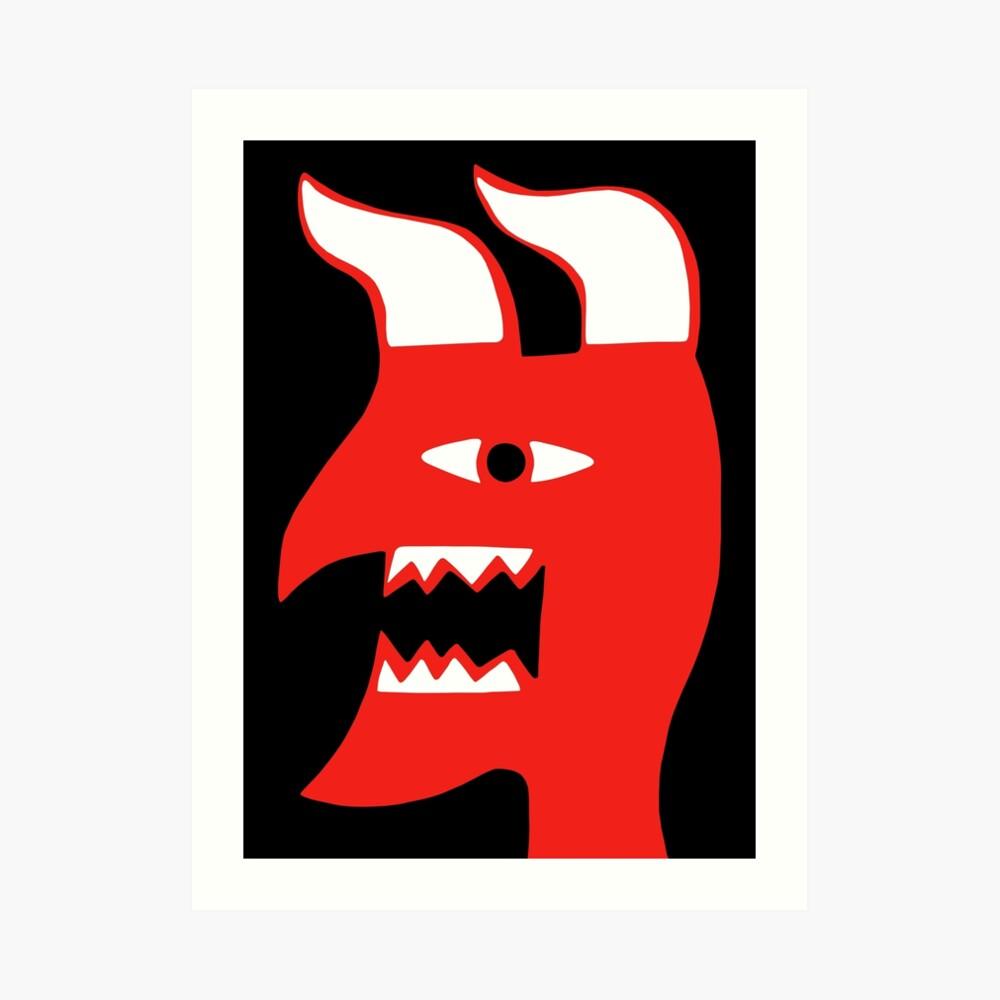 The devil will always make me do it Art Print