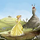 Princess in the mountains by studiokayleigh
