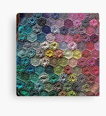 Crochet 2 Pattern Metal Print