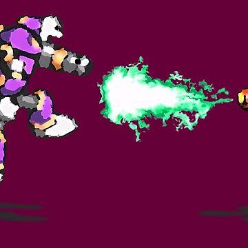 Mega Man X vs. Vile by Justin-Case001
